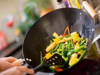 The benefits of stir-frying food