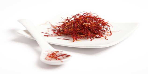 saffron in hindi