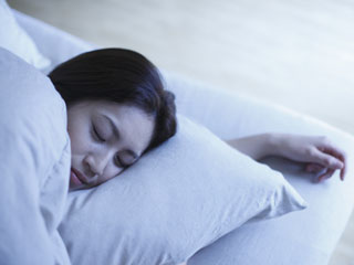 For deep sleep, take enough <strong>calcium</strong>