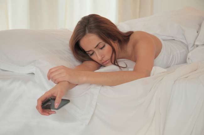 Not Sleeping with the Cell Phone