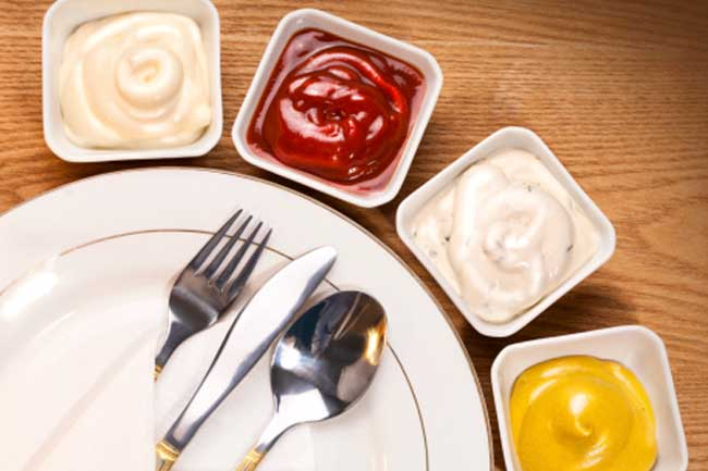 Ditch Sauces, Ketchup and Mayonnaise