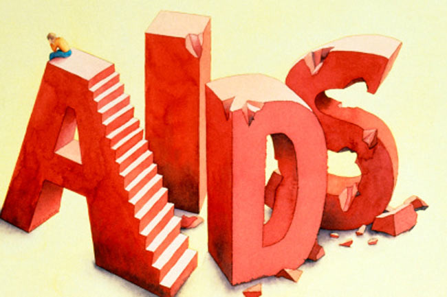 AIDS diagnosis is a little more complicated