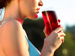 Drink <strong>cranberry</strong> <strong>juice</strong> for a healthy heart