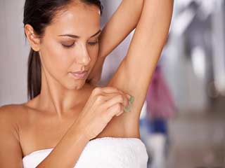 How to get rid of armpit <strong>rash</strong>