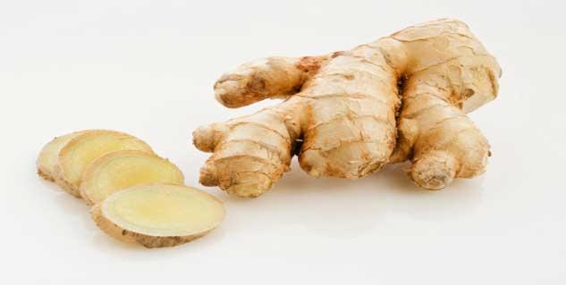 ginger for sore throat