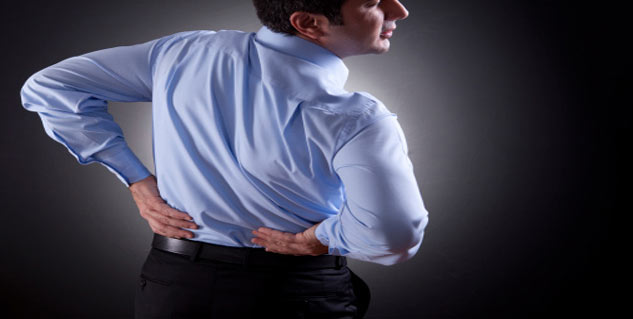 get rid of back pain