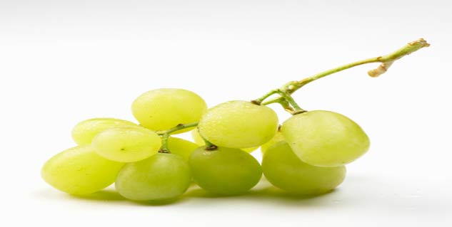 White grapes benefits