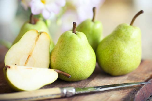 Pears to reduce dementia risk