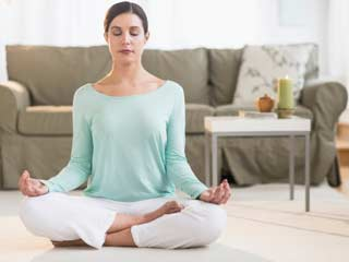 Meditation to maintain normal blood pressure levels