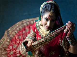 The <strong>Indian</strong> bridal look is transforming