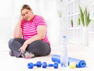 <strong>Obesity</strong> can lead to depression