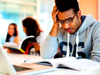 Study says that fear does not help in exam