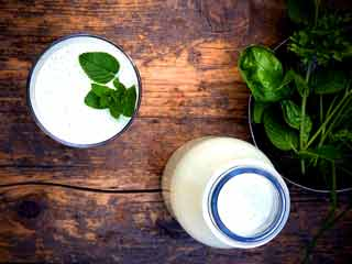 Try refreshing <strong>mint</strong> <strong>lassi</strong> this summer