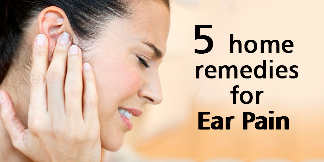 5 Home Remedies For Ear Pain Video  Home Remedies-3345