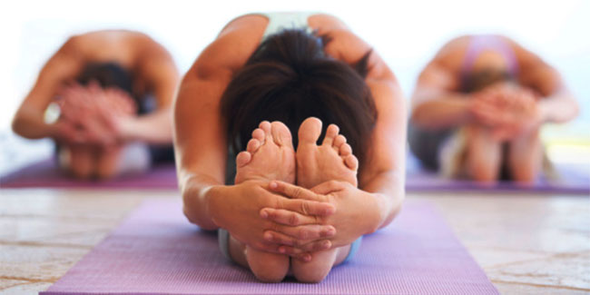 Yoga for arthritis: Butterfly pose