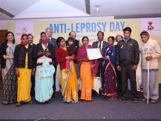 Sasakawa-<strong>India</strong> Leprosy Foundation awards <strong>Best</strong> Livelihood Initiatives on Anti-Leprosy Day