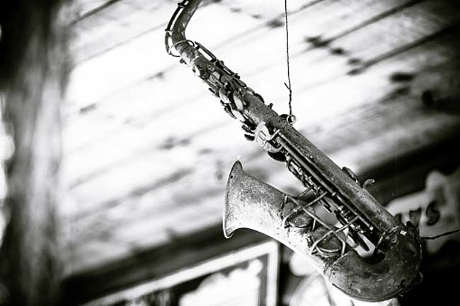 An old saxophone will do