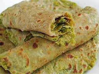 Matar parantha, quick <strong>healthy</strong> breakfast recipe