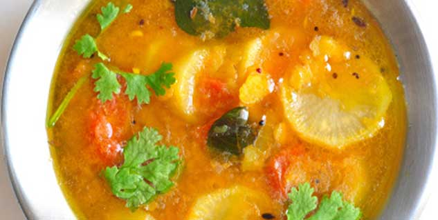sambhar in hindi