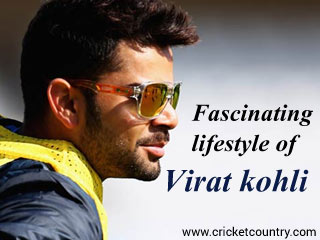 Fascinating lifestyle of Virat kohli