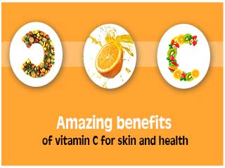Amazing benefits of vitamin <strong>c</strong> for skin and health