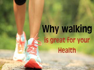 Why walking is great for your <strong>health</strong>
