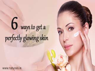 6 ways to get a perfectly glowing <strong>skin</strong>