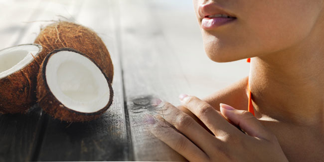 Reasons to use coconut oil for sun tan removal