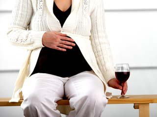 Drinking can hurt your baby during <strong>pregnancy</strong>