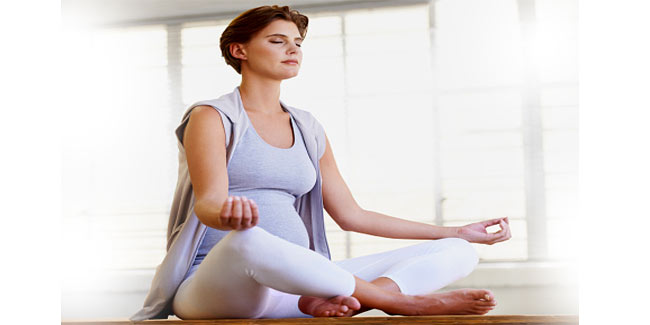 Learn how to meditate during pregnancy