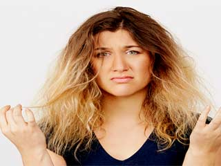 Tips for <strong>dry</strong> and damaged <strong>hair</strong>