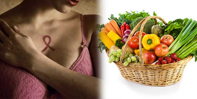 breast cancer and fruits and vegetables in hindi