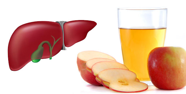 How to cleanse your liver with apple cider vinegar