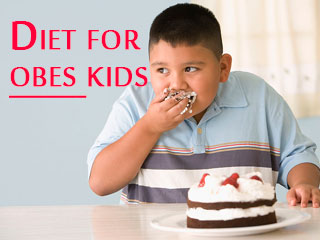 Diet for obese <strong>kids</strong>