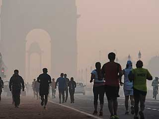 "Delhi air quality will soon improve from ""very severe"" to ""very <strong>poor</strong>"""