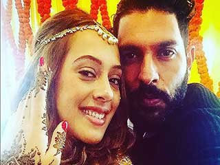 Congratulations, Yuvi and Hazel: The love birds getting hitched today!