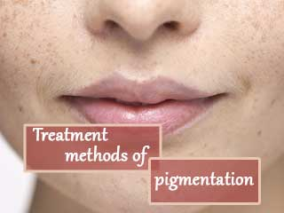 Treatment methods of pigmentation