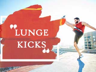 Lunge <strong>Kicks</strong>
