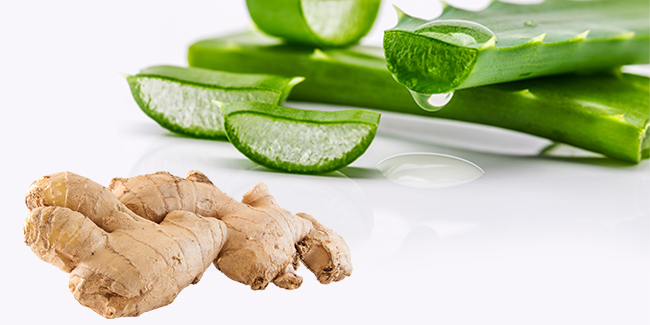 Looking for ways to tighten your saggy belly? Try ginger and aloe vera mask