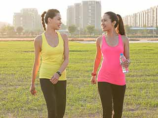 Brisk walk keeps <strong>heart</strong> diseases at bay