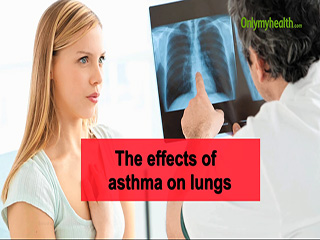 The effects of <strong>asthma</strong> on lungs