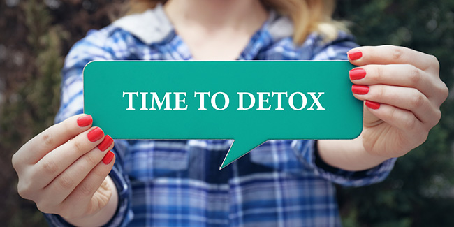 It's time to chalk your detoxification routine