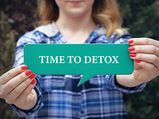 It's <strong>time</strong> to chalk your detoxification routine