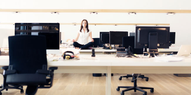 Know why yoga at workplace is catching up