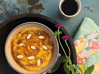 <strong>Recipe</strong> for Pumpkin Oats Porridge and why oats make a good breakfast option