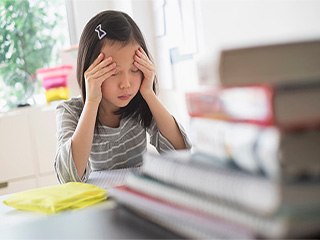 Tips for you to help your kids beat <strong>exam</strong> blues