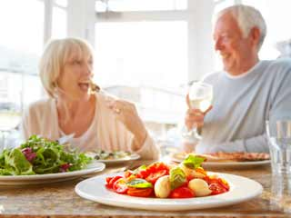 Healthy diet plan for people over 70 years