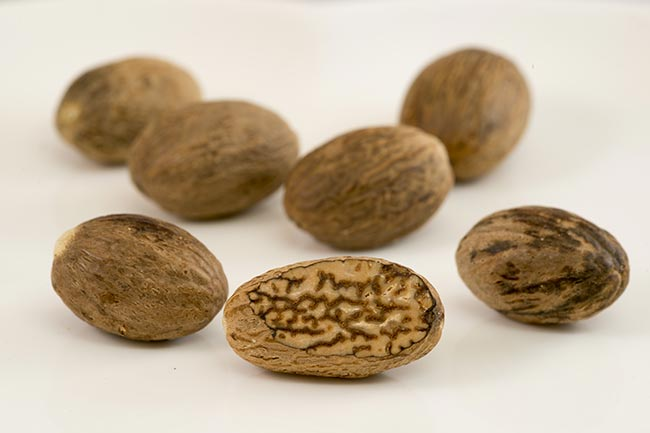 Nutmeg or jaiphal
