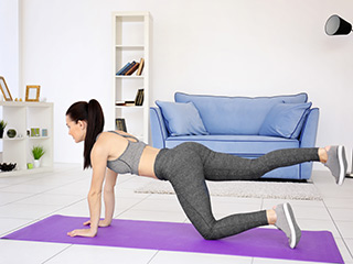 4 Effective Exercise to Gain <strong>Weight</strong> Fast at Home