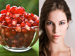 DIY pomegrante face masks for flawless and radiant skin